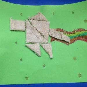 Maths on Toast toasty tangrams