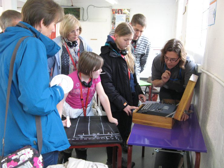 Cracking codes at Bletchley Park